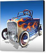 Peddle Car Canvas Print by Mike McGlothlen