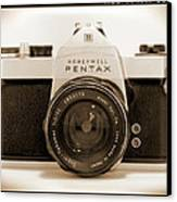 Pentax Spotmatic IIa Camera Canvas Print by Mike McGlothlen