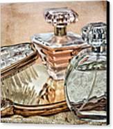Perfume Bottle Ix Canvas Print by Tom Mc Nemar