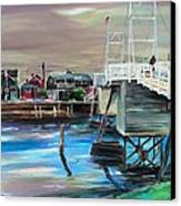 Perkins Cove Maine Canvas Print by Scott Nelson