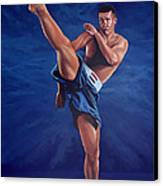 Peter Aerts  Canvas Print by Paul Meijering