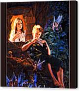 Peter Pan Canvas Print by Patrick Whelan