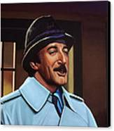 Peter Sellers As Inspector Clouseau  Canvas Print by Paul Meijering