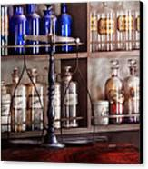 Pharmacy - Apothecarius  Canvas Print by Mike Savad