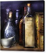Pharmacy - Constipated  Canvas Print by Mike Savad