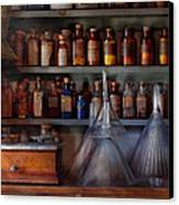 Pharmacy - Master Of Many Trades  Canvas Print by Mike Savad