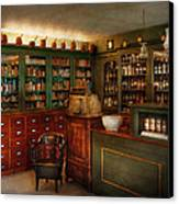 Pharmacy - Patent Medicine  Canvas Print by Mike Savad