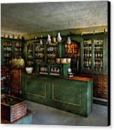 Pharmacy - The Chemist Shop  Canvas Print by Mike Savad