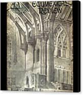 Phil Ecumenical Review 1965 Canvas Print by Glenn Bautista