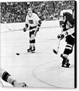 Phil Esposito In Action Canvas Print by Gianfranco Weiss