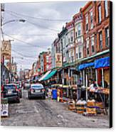 Philadelphia Italian Market 2 Canvas Print by Jack Paolini