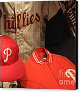 Philadelphia Phillies Canvas Print by David Rucker
