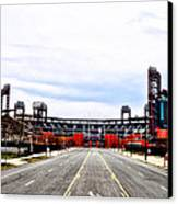 Phillies Stadium - Citizens Bank Park Canvas Print by Bill Cannon
