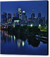 Philly Skyline Canvas Print by Mark Fuller
