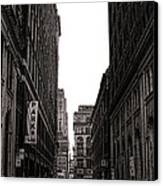 Philly Street Canvas Print by Olivier Le Queinec