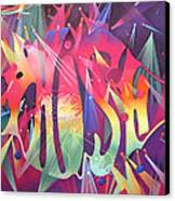 Phish The Mother Ship Canvas Print by Joshua Morton