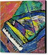 Piano Blue Canvas Print by Anita Burgermeister