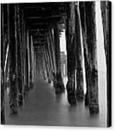 Pillars And Fog 2 Canvas Print by Paul Topp