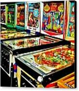 Pinball Alley Canvas Print by Benjamin Yeager
