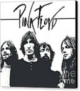 Pink Floyd No.05 Canvas Print by Caio Caldas