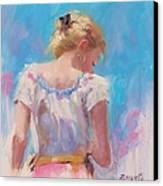 Pino Study Canvas Print by Laura Lee Zanghetti