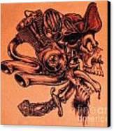 Pirate Canvas Print by Sean Ingram