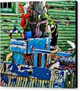 Plastic Jesus Canvas Print by Steve Harrington
