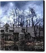 Plunkett Mansion Canvas Print by Tom Straub