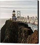 Point Bonita Lighthouse Canvas Print by Georgia Fowler