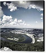 Point Park Overlook 2 Canvas Print by Steven Llorca