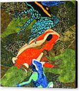 Poison Dart Frogs Canvas Print by Lynda K Boardman