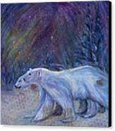 Polaris Canvas Print by Angie Bray-Widner