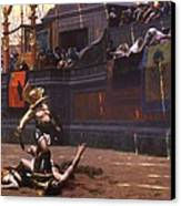 Pollice Verso Canvas Print by Pg Reproductions