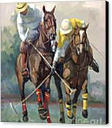 Polo Canvas Print by Laurie Hein