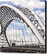 Ponte Settimia Spizzichino Canvas Print by Fabrizio Troiani