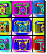 Pop Art Robin Proofs Canvas Print by Mike McGlothlen
