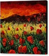 Poppies 68 Canvas Print by Pol Ledent