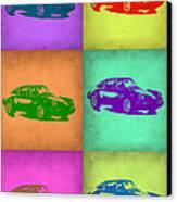 Porsche 911 Pop Art 2 Canvas Print by Naxart Studio