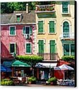 Portofino Canvas Print by Michael Swanson