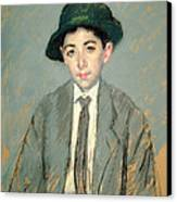 Portrait Of Charles Dikran Kelekian Canvas Print by Mary Stevenson Cassatt