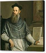 Portrait Of Daniele Barbaro Canvas Print by Paolo Caliari Veronese
