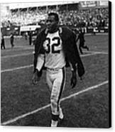 Jim Brown Canvas Print by Retro Images Archive