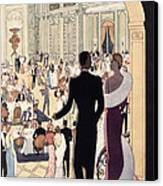 Poster Advertising The Rex Canvas Print by Italian School