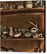 Pots And Things Canvas Print by William Fields