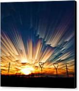 Power Source Canvas Print by Matt Molloy