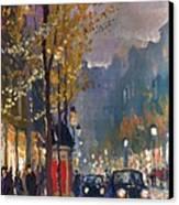 Prague Old Vaclavske Square 01 Canvas Print by Yuriy  Shevchuk