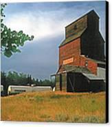 Prairie Sentinel Canvas Print by Terry Reynoldson
