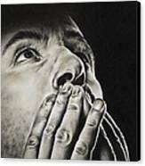 Prayer Canvas Print by Natasha Denger