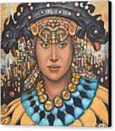 Pre-inca 3 Canvas Print by Jane Whiting Chrzanoska