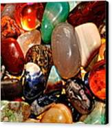 Precious Stones Canvas Print by Frozen in Time Fine Art Photography